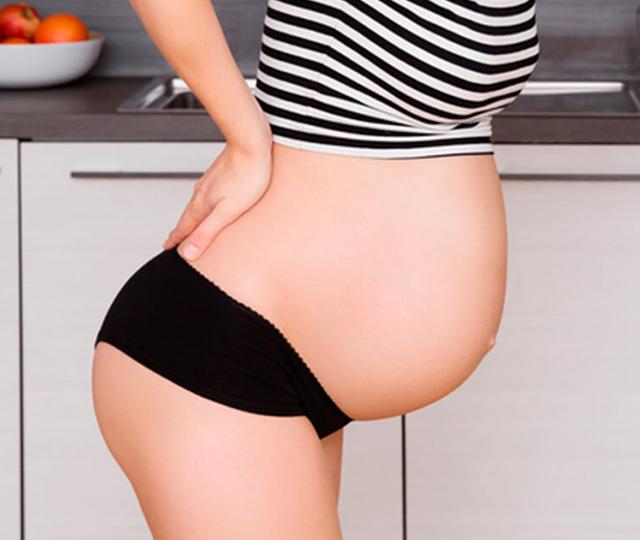 Embarazo en 8 dolor meses cadera el de